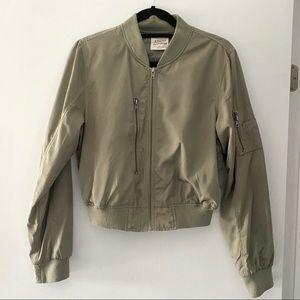 Ashley by 26 international green bomber jacket